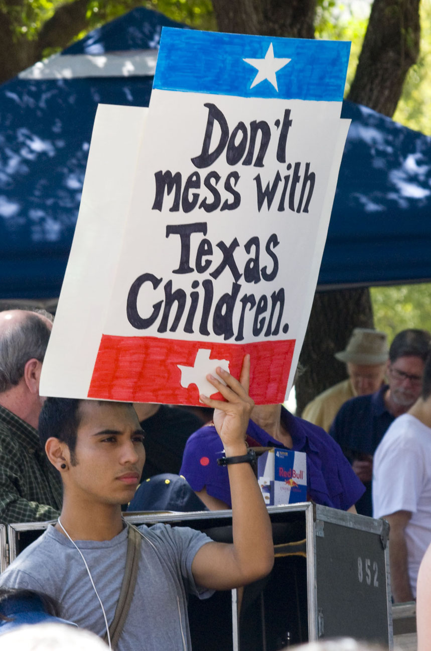 Don't Mess with Texas Schools